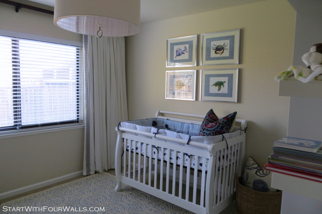 Nautical Nursery Reveal