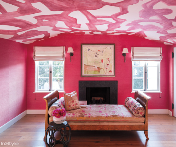 Crushing On Color: Pink - Start With Four Walls