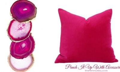 Crushing on Color: Pink startwithfourwalls.com