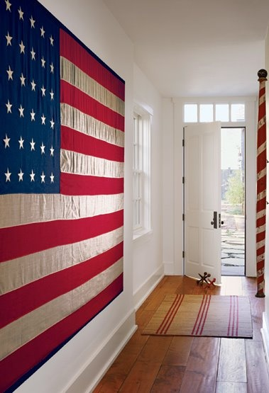 Getting In The Mood American Flag Decor Start With Four