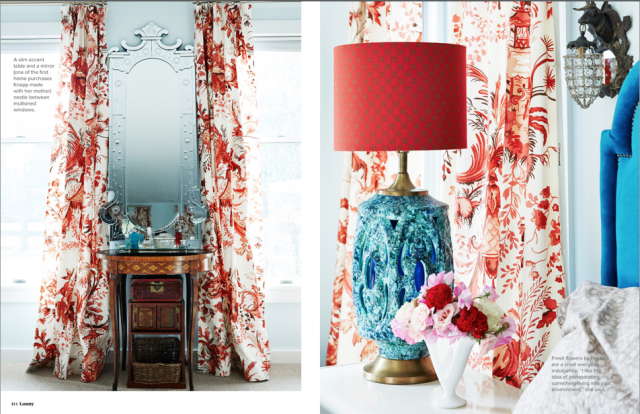 Red, white, and blue color scheme startwithfourwalls.com