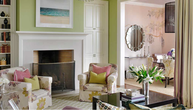 Feminine living room startwithfourwalls.com