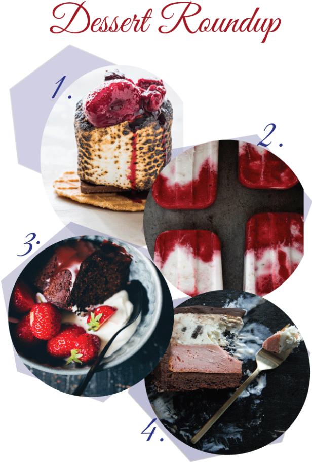 Summertime Dessert Roundup startwithfourwalls.com