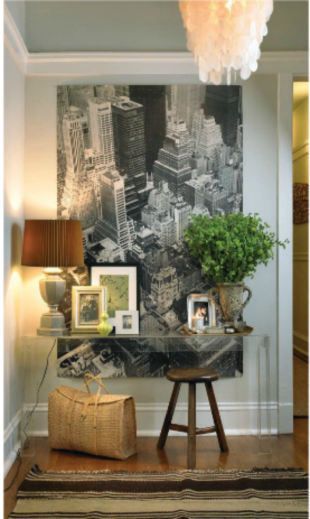 Small Entryway Ideas startwithfourwalls.com