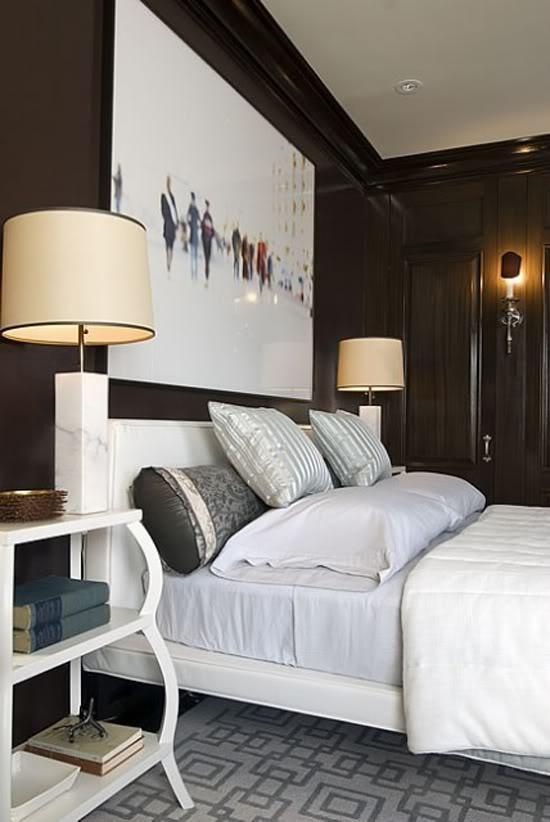 Modern Bedroom Inspiration startwithfourwalls.com