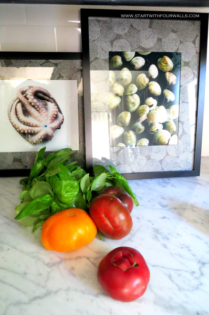 New Art for the kitchen startwithfourwalls.com