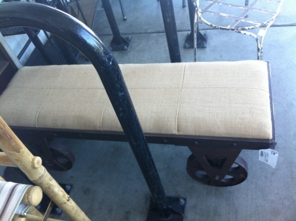 Industrial bench seat