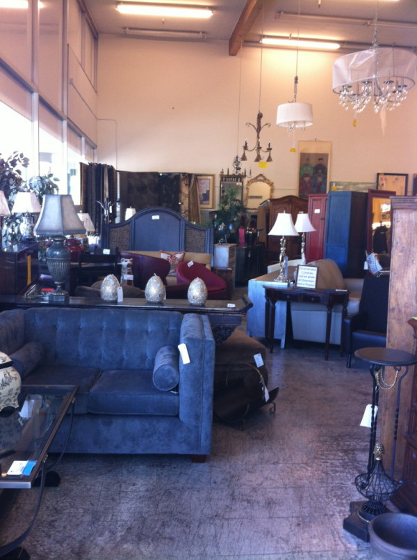 Shopping a Furniture Consignment Store startwithfourwalls.com