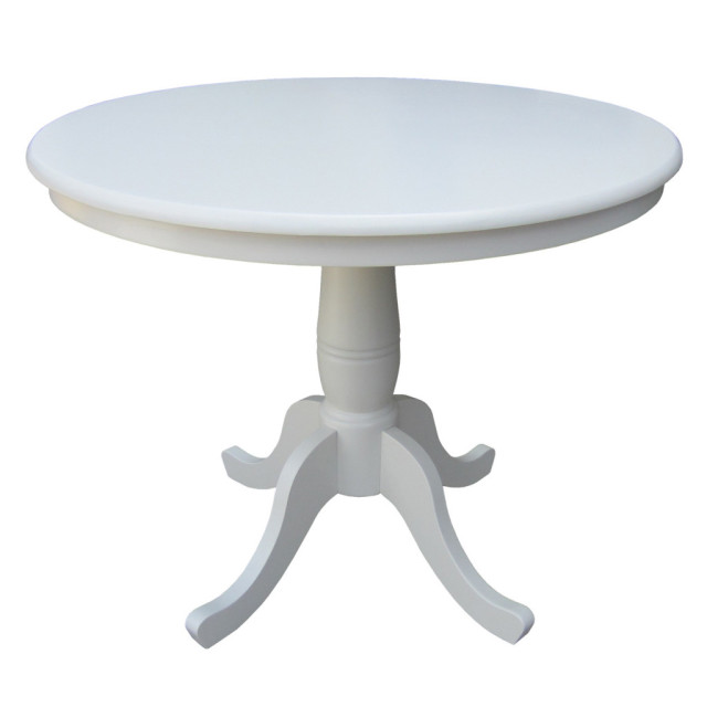 Round Kitchen table options startwithfourwalls.com