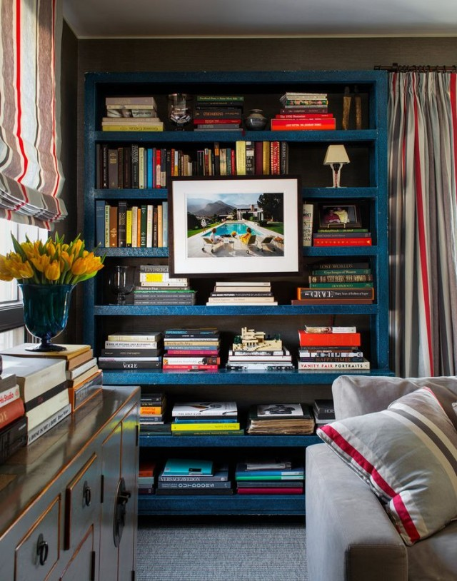 Bookcase Ideas for the Living room startwithfourwalls.com