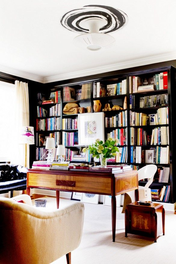 Bookcase inspiration for the living room startwithfourwalls.com