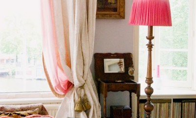 DIY Ombre Curtains startwithfourwalls.com